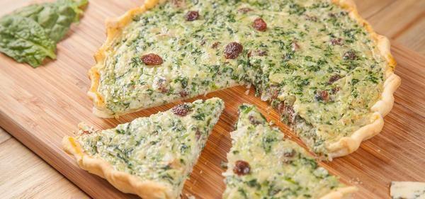 Quiche de bacalao y espinacas receta by Foodinthebox - 1