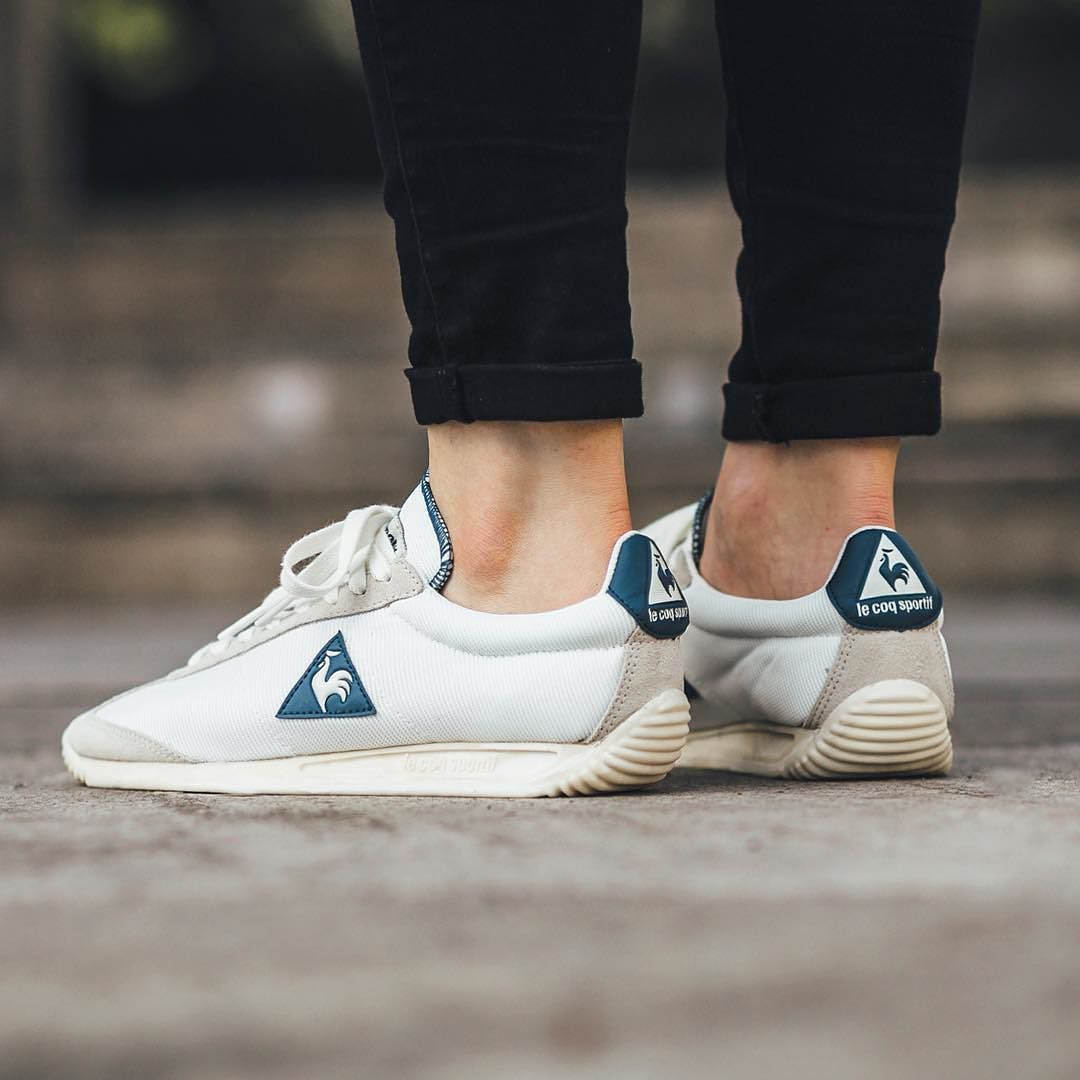 Le Coq Sportif Quartz Vintage - Marshmallow/Gray Morn available now  in-store and online @titoloshop Berne | Zurich US 4 (36) - US 12 (46) by  titoloshop