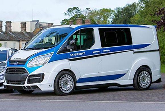 Ford Transit Custom Van Gets M Sport Treatment Cars