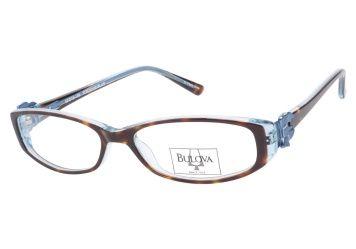 Bulova Berkshire Tortoise Blue   Vintage, Blue, Cat Eye