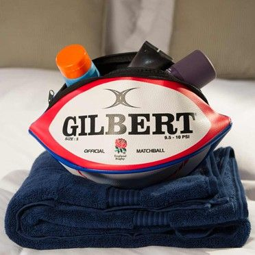 England Rugby Ball Wash Bag This Is The Ideal Gift For Any Rugby Fan Practical And Fun Too Rugby Wash Bags Personalised Gifts For Him