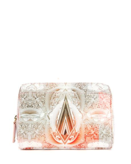 Printed small washbag - Ecru | Gift Accessories | Ted Baker