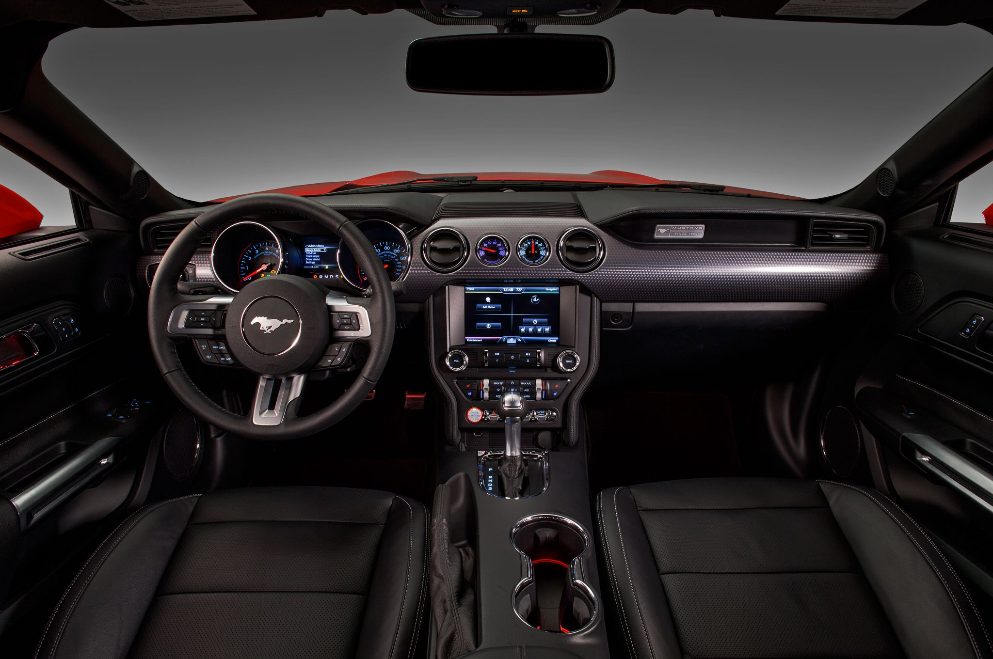 2015 Ford Mustang 5 0 Red Interior Overall Mustang