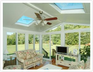 Sunroom With Insulated Glass Roof Panels Photo.. Love How It Is So Bright