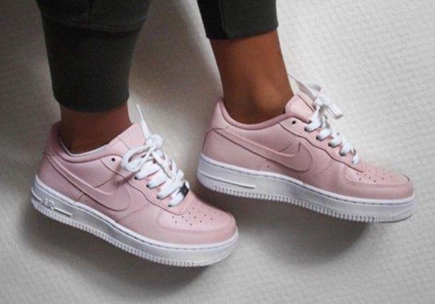 nike air force rosa