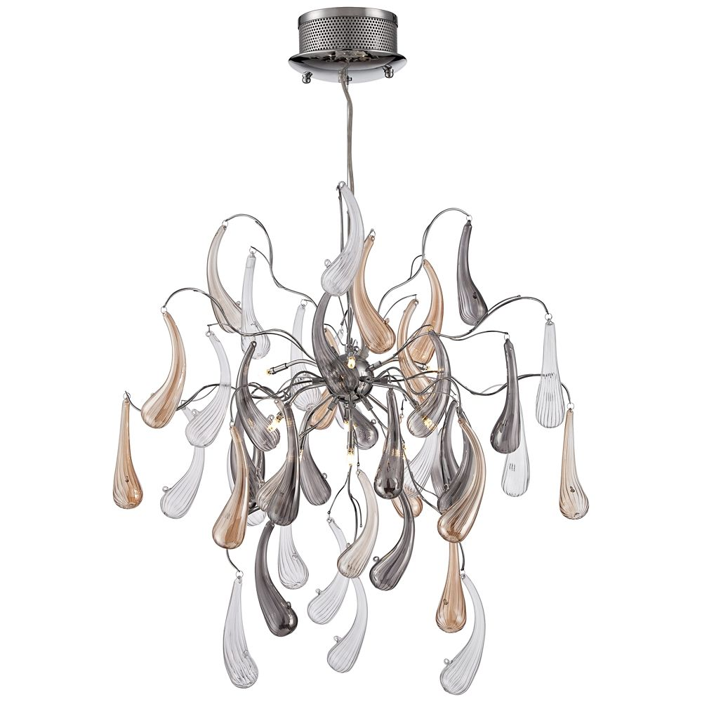 Possini Euro Fabrizio Wide Contemporary Glass Pendant Won T Work In My Home But It Is So Cool I Love For A More Modern Room