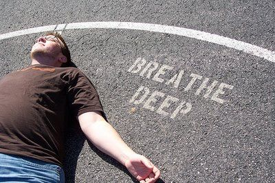 Always trying to remember to take deep breaths!!!