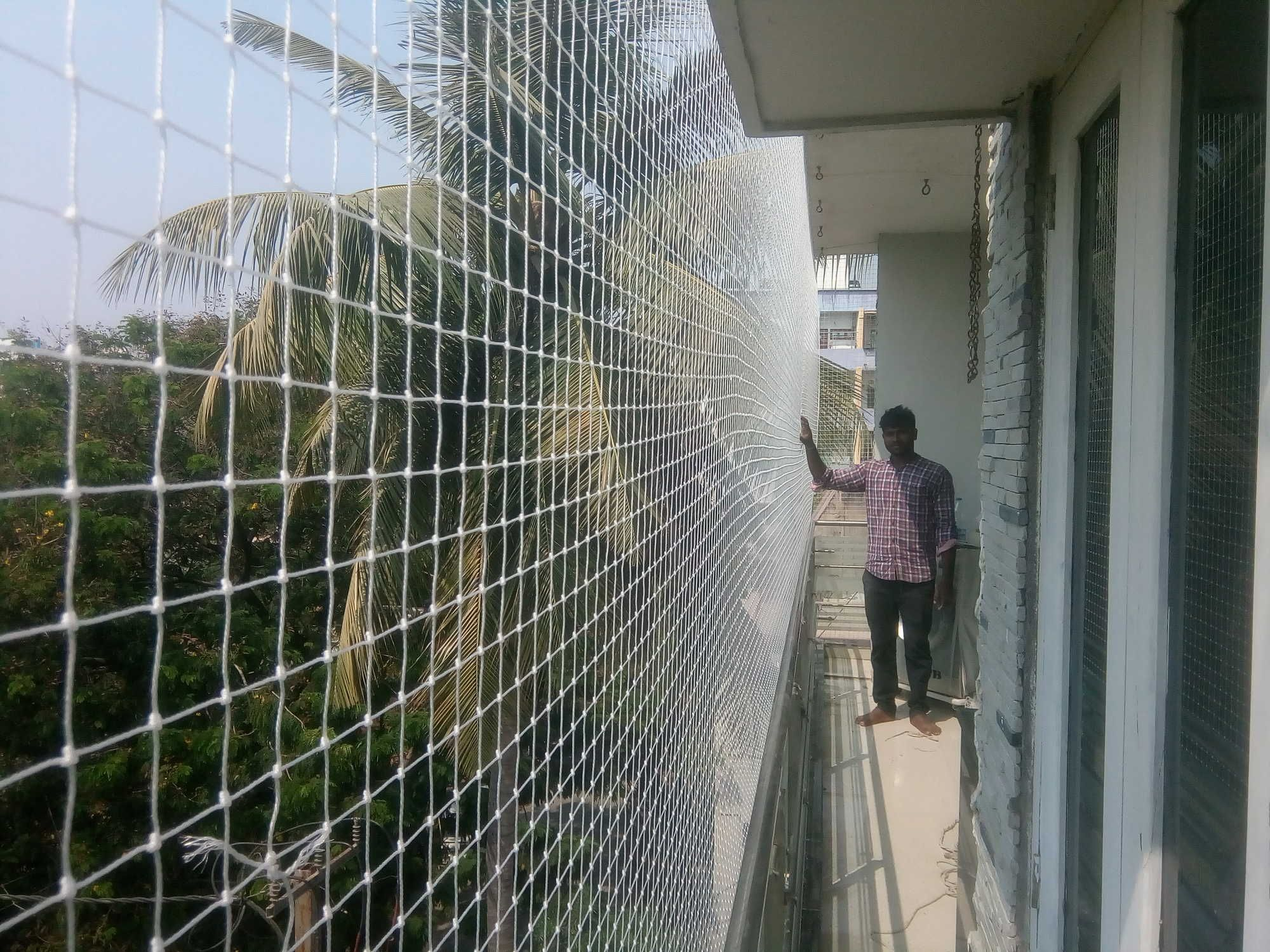 Bird Netting installation services in Bangalore and Mumbai