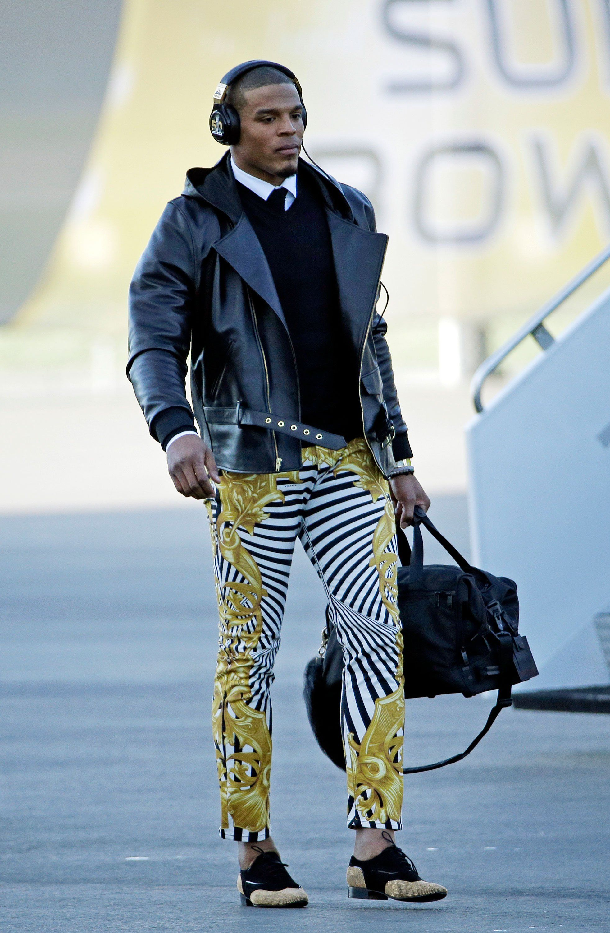 cam newton u2019s in a whole other league with his cool pants