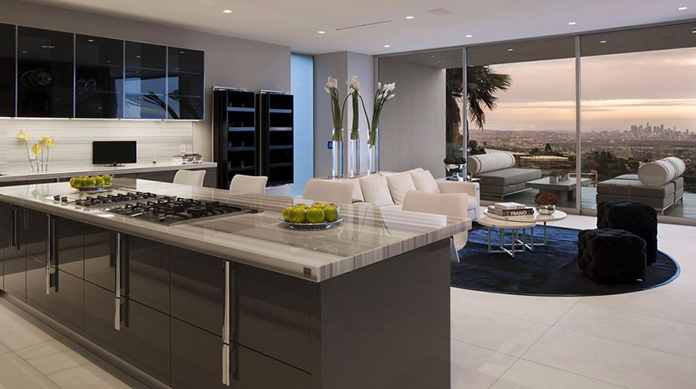 Luxurious Hollywood Mansion Oriole Way Mcclean Design 5 The