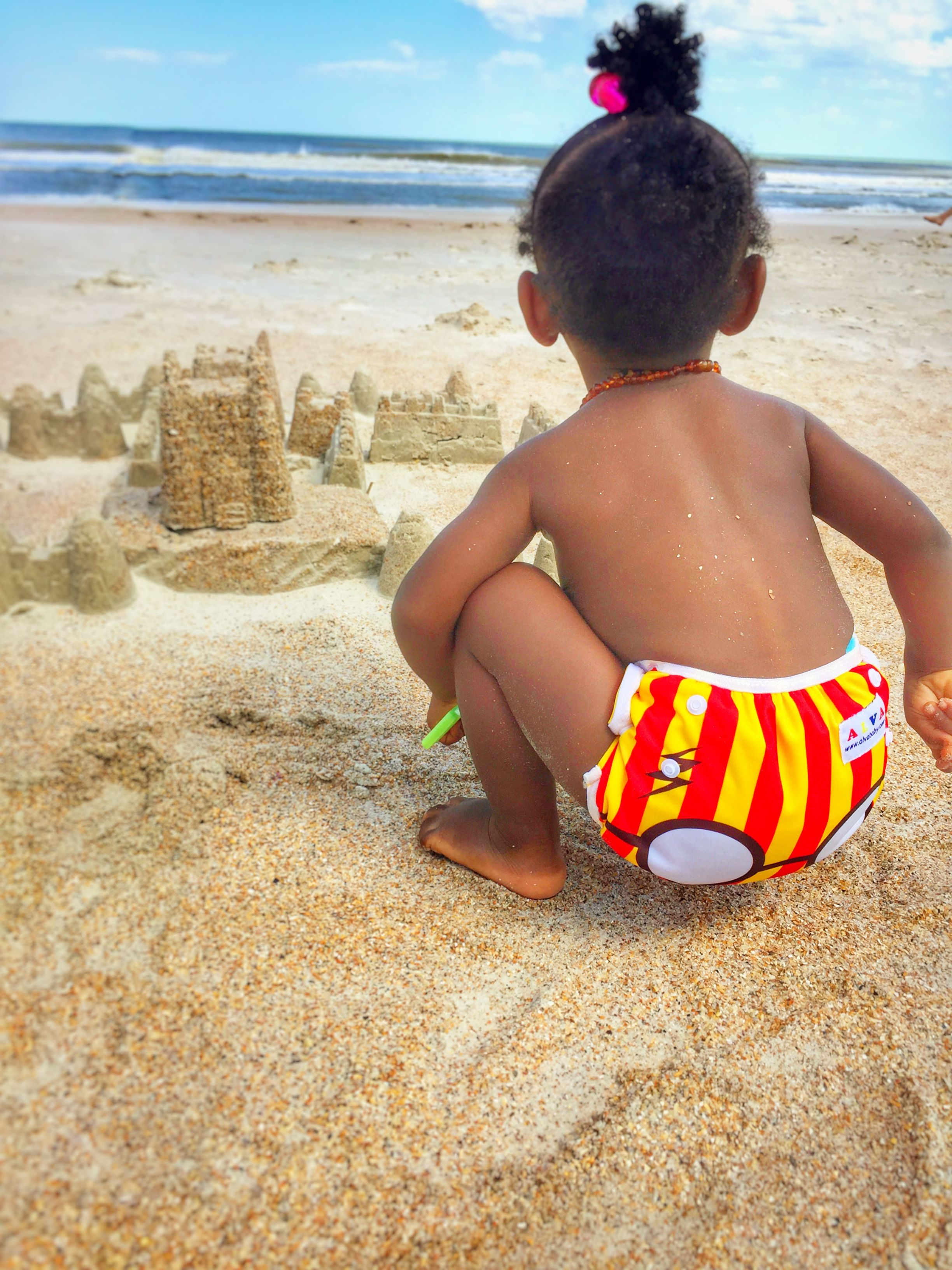 bfa52e280f Reusable swim diaper. Cloth swim diaper. Only $5 Alva Baby   Swim ...