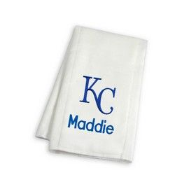 Kansas city royals personalized burp cloth kansas city royals at find this pin and more on kansas city royals baby gifts by chadandjake negle Choice Image