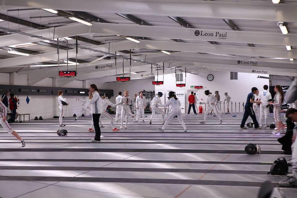 Leon Paul Fencing Centre Fencing Salles Fechten