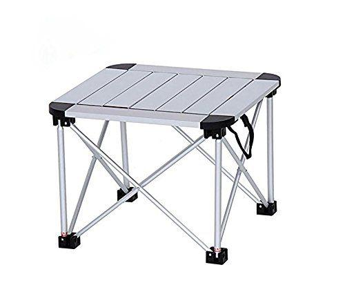 MCCOutdoor Aluminum Folding Chair Super Light Portable Picnic Table Small  Table Figure Color 414131cm **