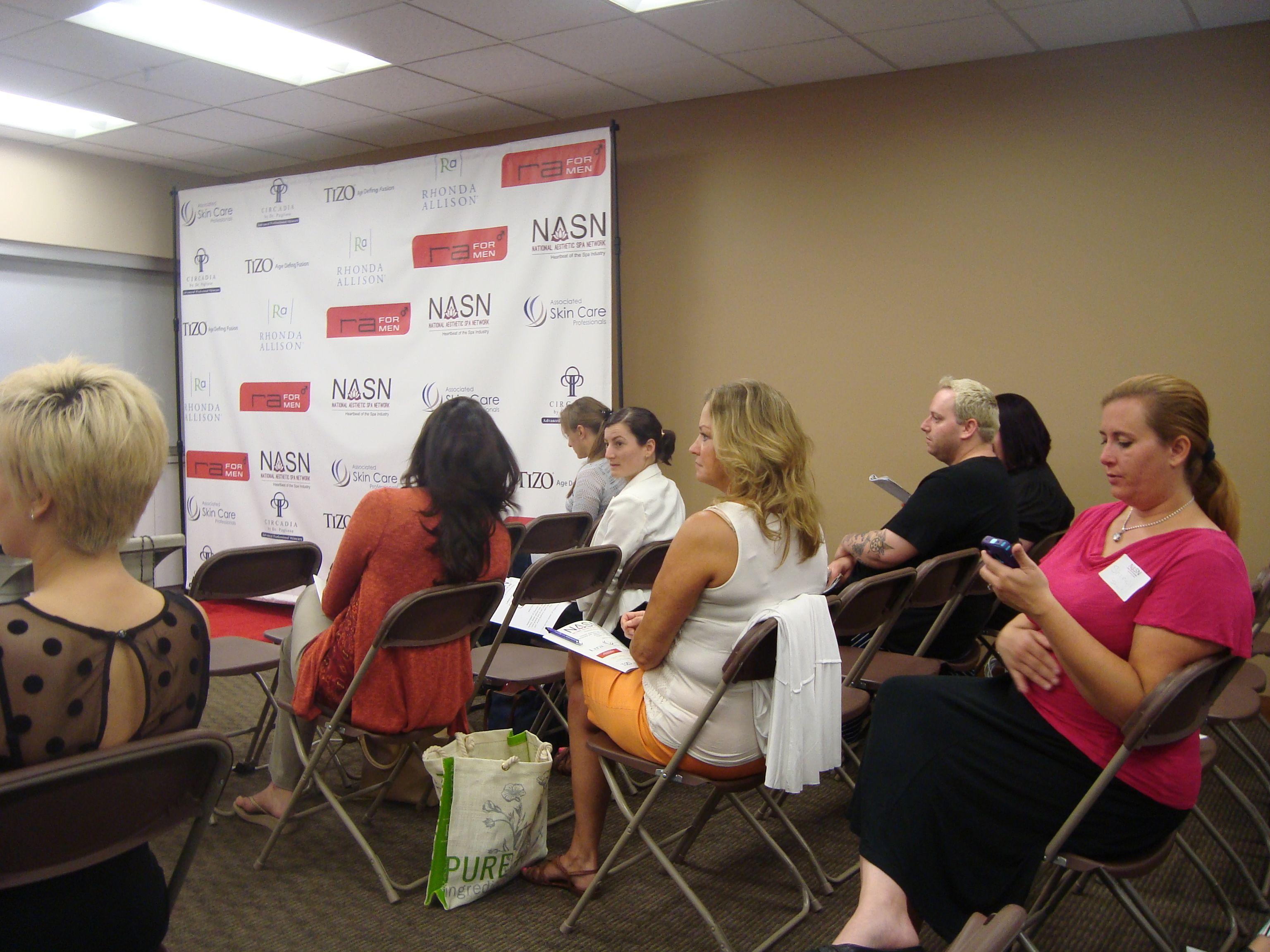 Skin care industry educational programs educational