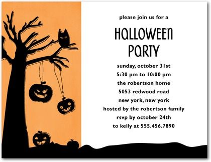 party: halloween party invitation wording as your ideas amplifyer, Party invitations