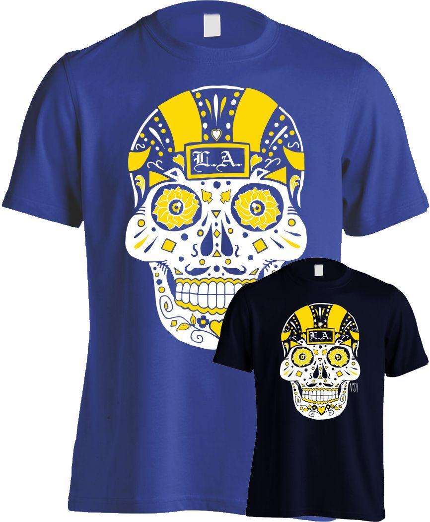 Los Angeles Football Sugar Skull  faf2ff414
