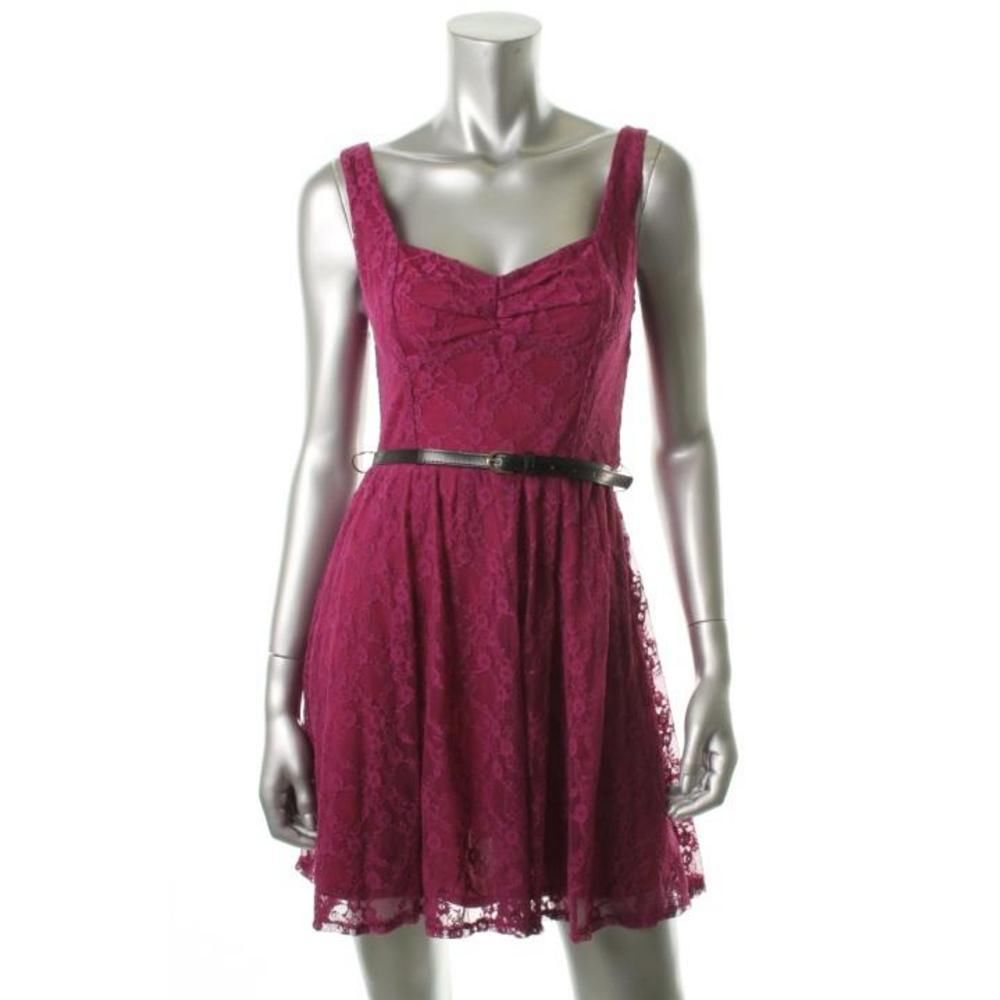 casual violet dresses with lace | 1000x1000.jpg