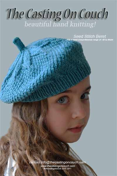 Seedstitchberet Projects To Try Pinterest Seed Stitch Beret