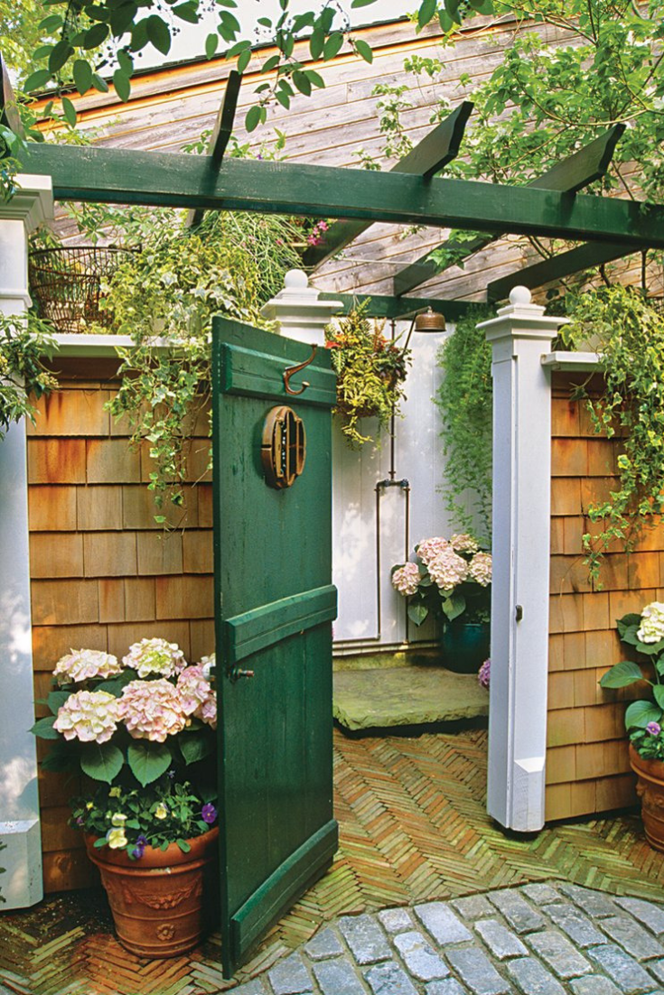 Our Favorite Outdoor Showers With Images Outdoor Shower