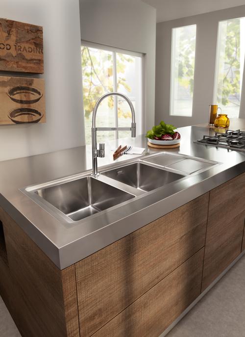 Lavelli da cucina in materiali diversi | cucina | Lavelli ...