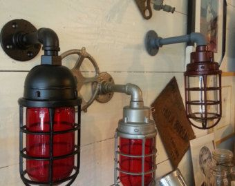 man cave lighting. Man Cave Indicator Light - Blast Proof Industrial Sconce Killark Lighting M