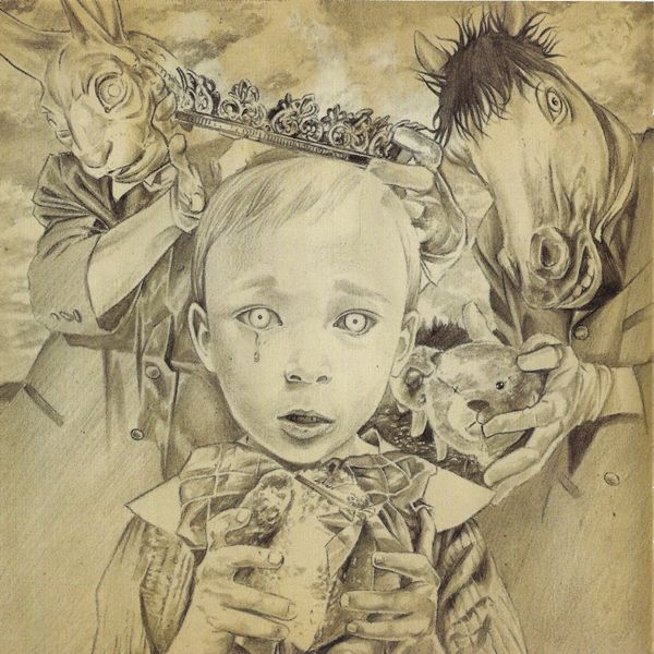David Stoupakis 2005 Korn See You On The Other Side Virgin 094634588928 Booklet Art Sketches Cover Art Sketches