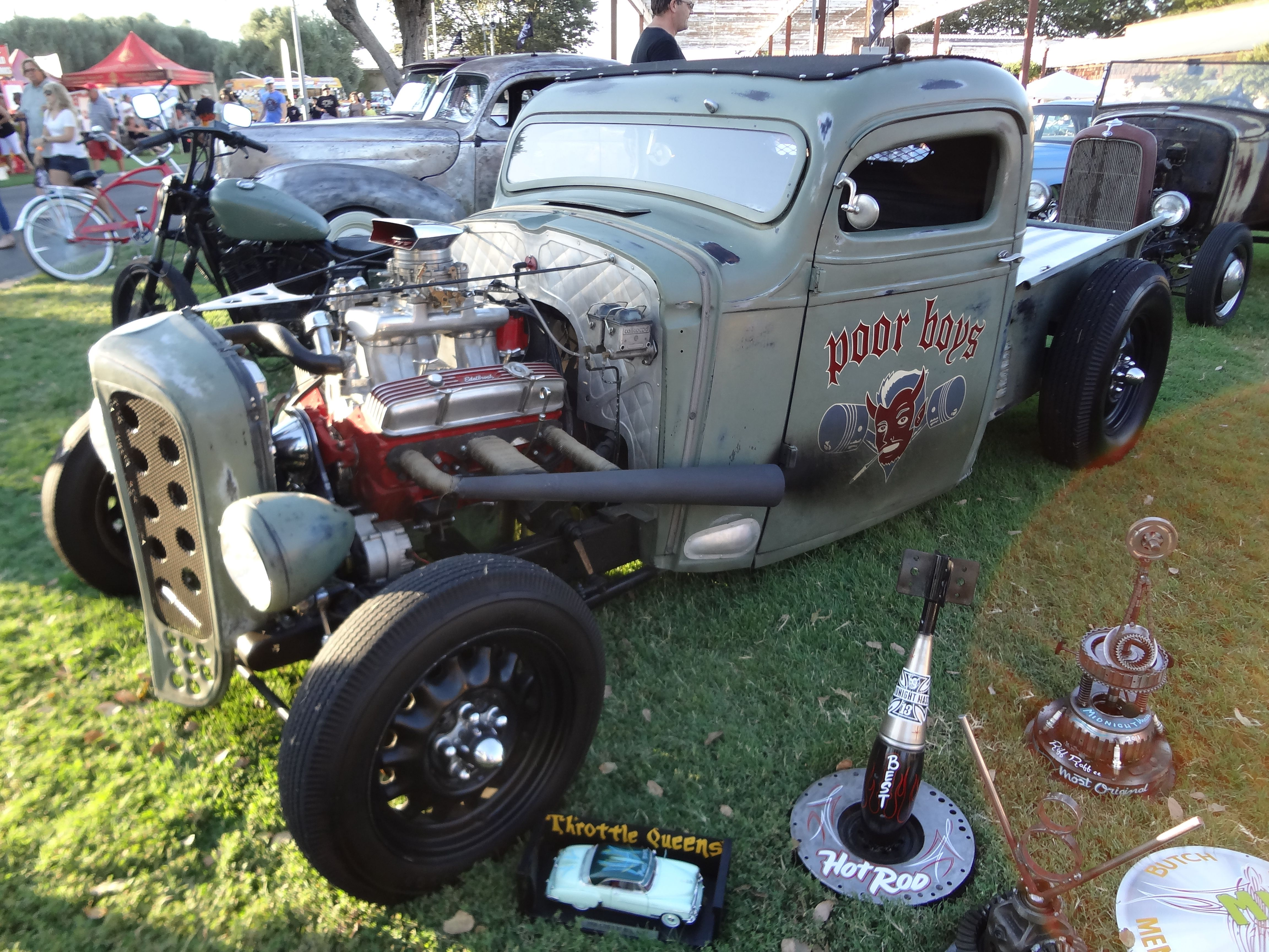 Rat Rods Poor Boys Car Show Pictures From Car Shows Pinterest