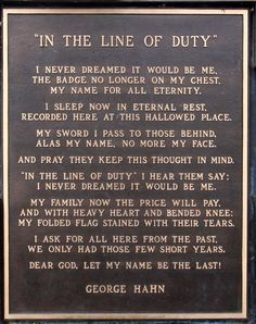 i was a police officer poem - Google Search | Prayer for ...