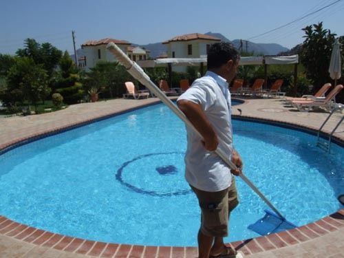 Swimming Pool Maintenance Swimming pools are great fun, but at the same  time the care
