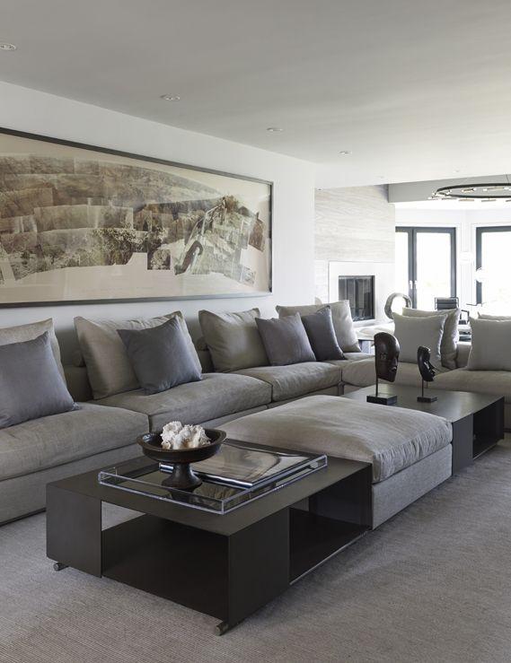 Living Room Coffee Tables Ottoman Salones Rurales Sofa De La Sala Sala De Estar Moderna
