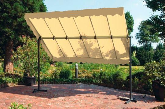 Sonnenschutz Garten sonnenschutz für den sitzplatz im garten pinteres