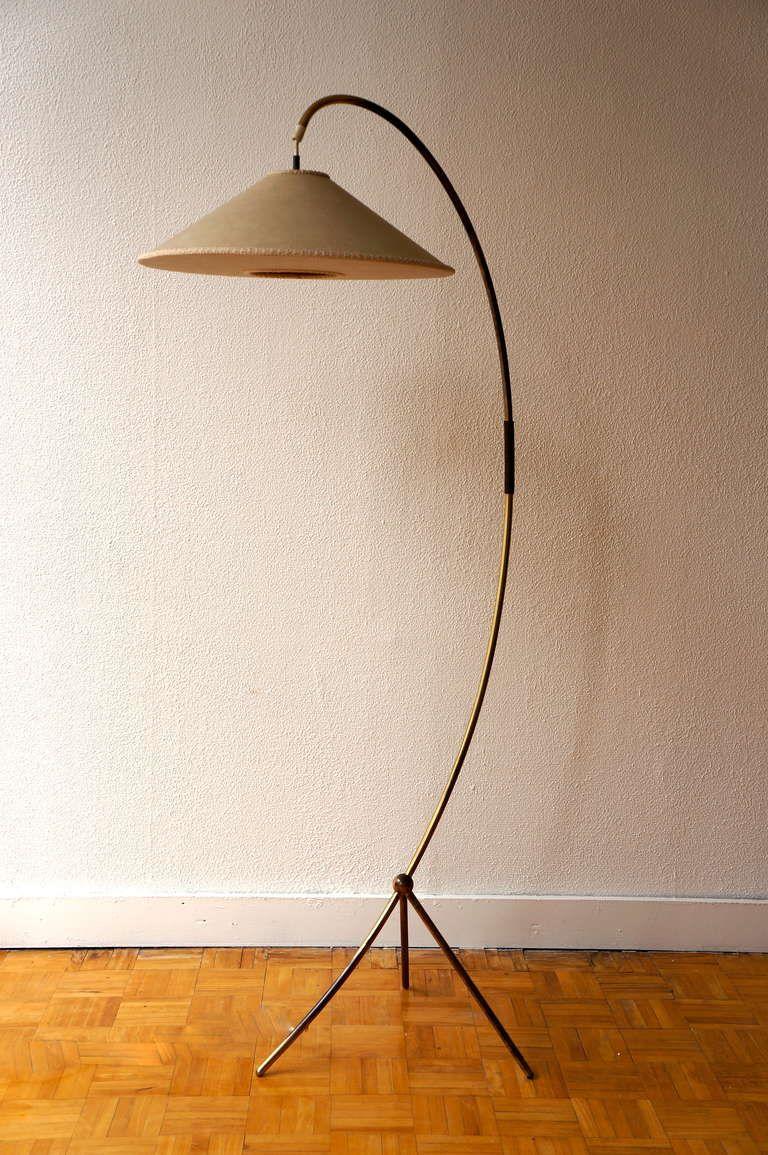 1950 S Standing Lamp In Brass 1stdibs Com Lamp Standing Lamp Brass Standing Lamp