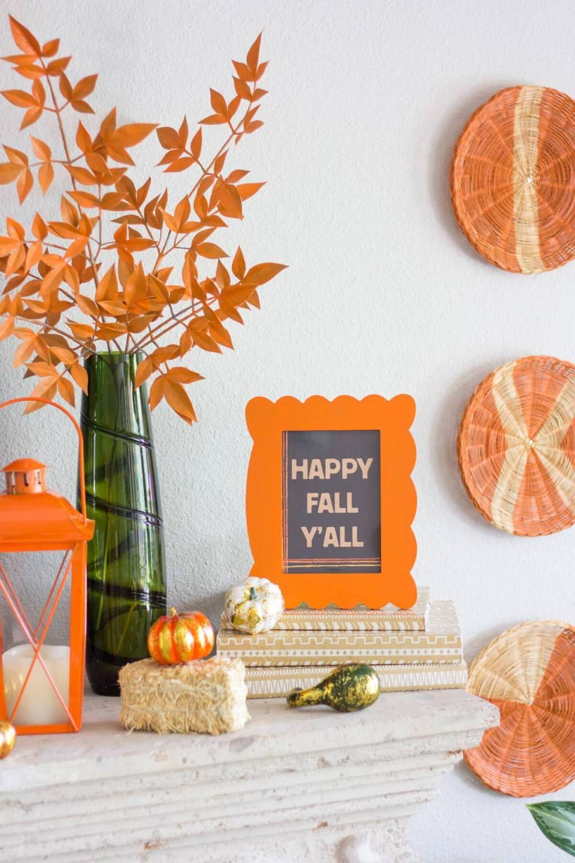 25+ Fabulous DIY Fall Mantel Decorating Ideas & Designs