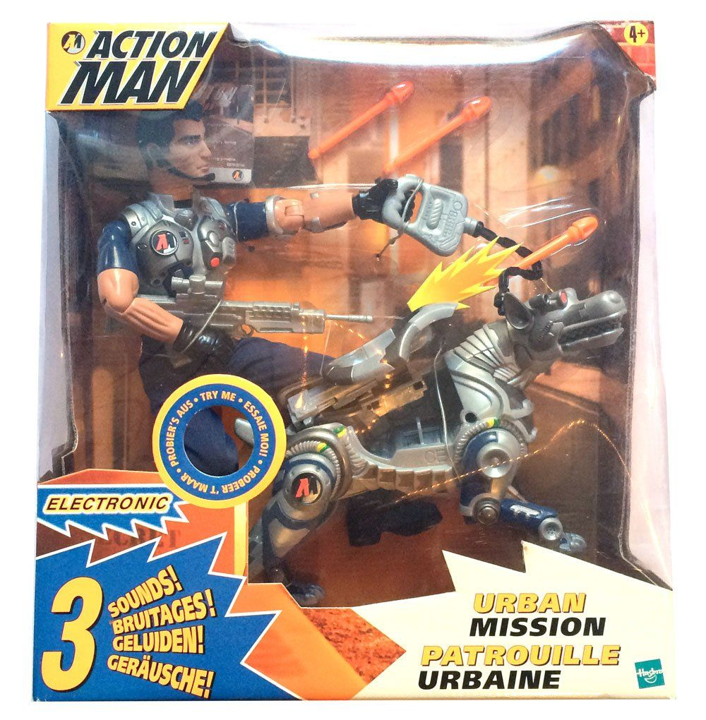 Action Man - Urban Mission  Hasbro  Action Man www.detoyboys.nl