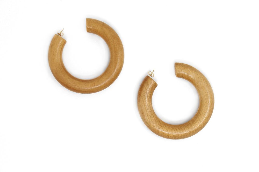 The Large Pine Hoops Monet Jewelry Jewelry Handmade Jewelry