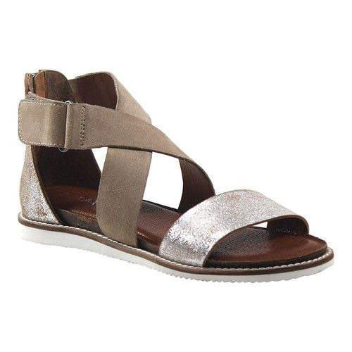 83e921897 Women s Diba True Flip Toes Strappy Sandal - Silver Natural Suede Sandals