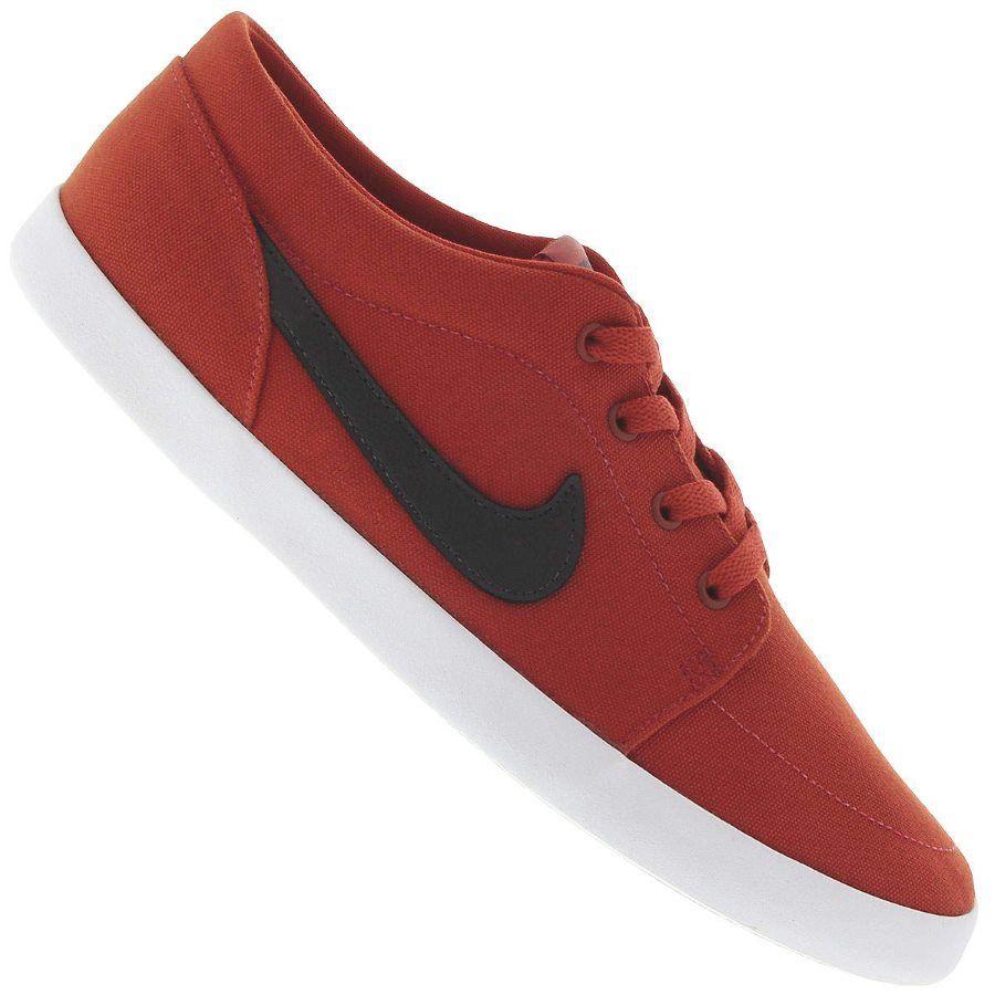Tênis Nike Futslide Casual Canvas Casual Futslide Masculino Vermelho / Preto 134ac2