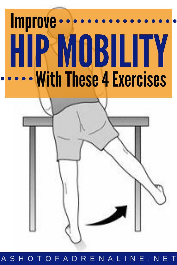 4 Bodyweight Exercises To Improve Hip Mobility
