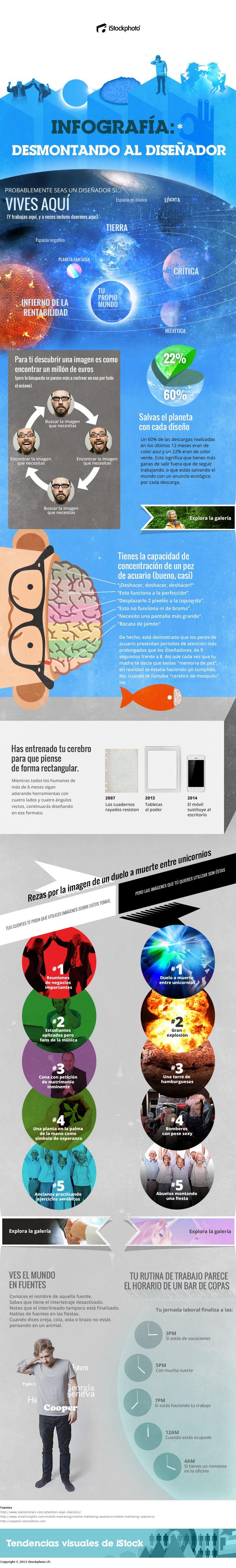 infografia diseñador grafico