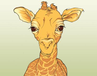 Big Publicity for Baby Giraffe