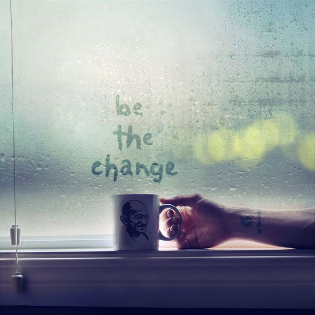 Be. The. Change