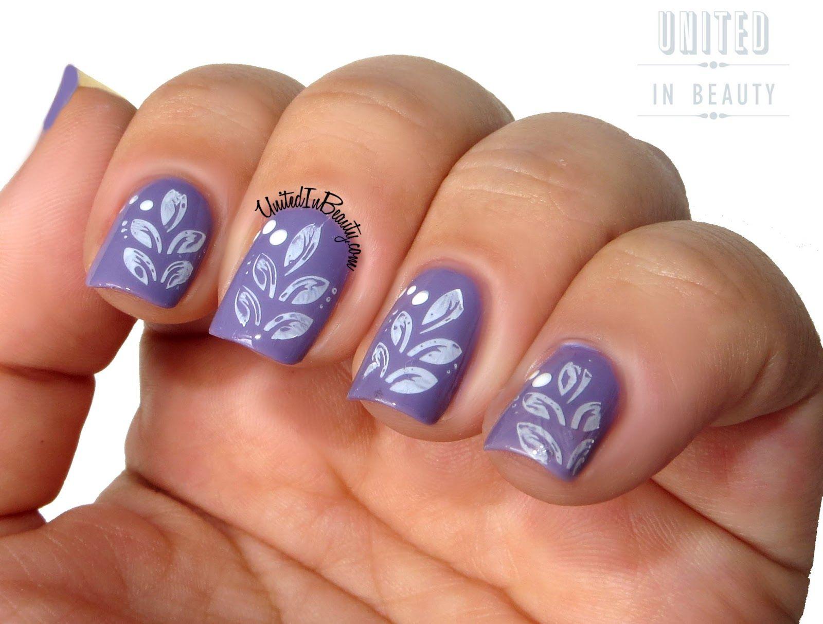Delicate Print Manicure