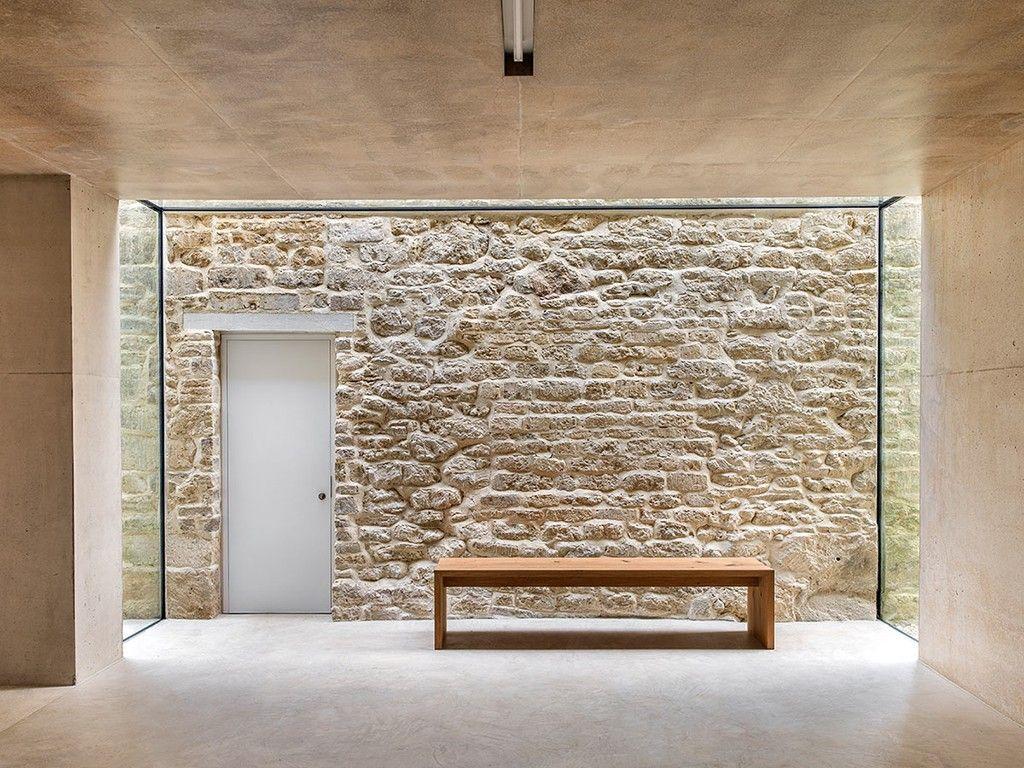 Parede de pedra em casa hallway pinterest parede de for Casas decorativas interiores