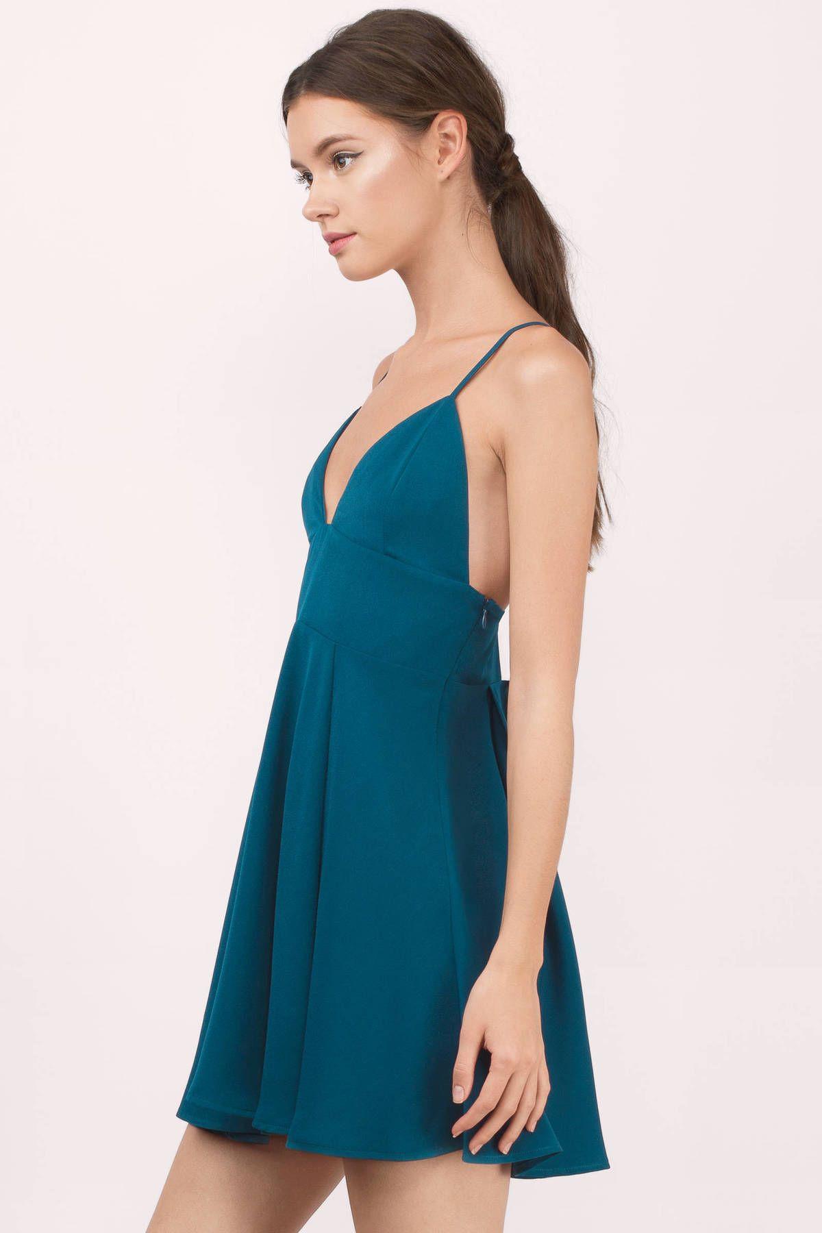 7af128e6543 Teal Dresses