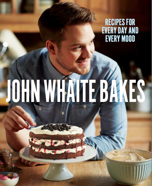 Now allowed to reveal the cover of my book John Whaite ...
