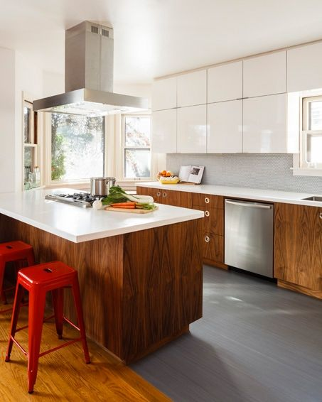 Sustainable Wood Kitchen Remodel Portland Oregon Fscic