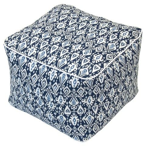 Outdoor Pouf Blue Ikat Threshold™ Home Decor Pinterest Magnificent Threshold Outdoor Pouf