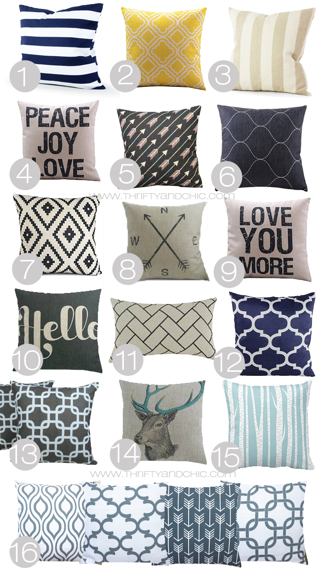 Cheap Decorative Pillows Under $10 Inspiration Great Site To Find Cute And Cheap Pillow Cases All Under $10Some Decorating Inspiration