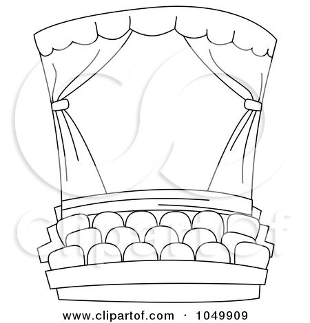 Theater Coloring Pages Sketch Coloring Page Coloring Pages Black And White Pictures Color